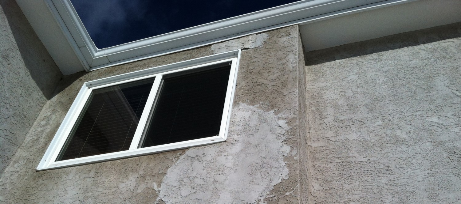 DON'T PATCH OR PAINT YOUR STUCCO… EVER.