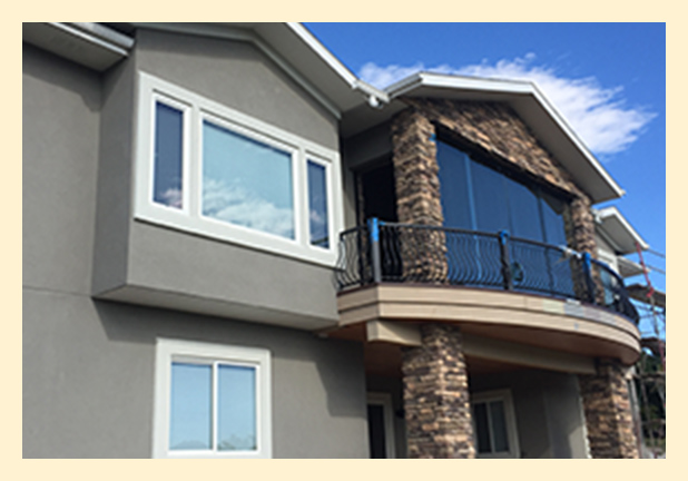 Stucco Protection on Colorado Springs home